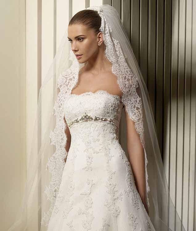 Fabulous Dokonal krajka V m dod na n nosti wedding dress weddingdress bride