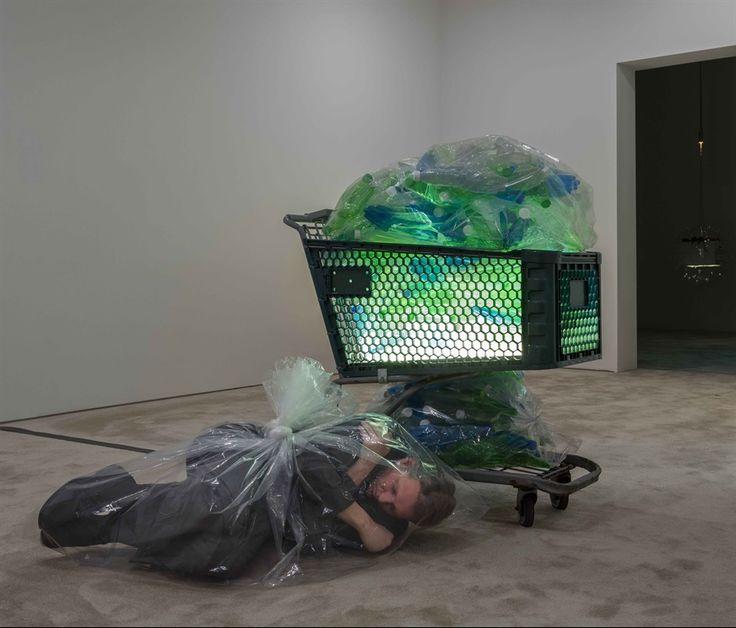 Fondazione Sandretto Re Rebaudengo, Josh Kline, Unemployment, installation view