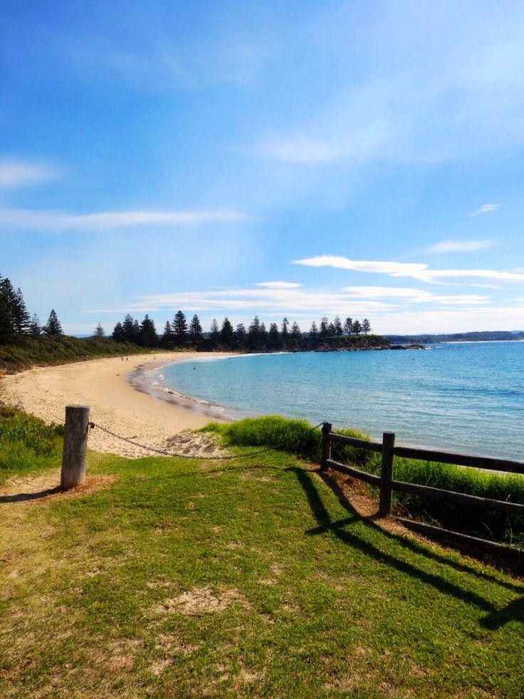 Bermagui. Horse shoe bay. South Coast Australia