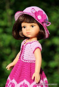 Цветочные мотивы. Игровые куклы Paola Reina. Одежда своими руками. / Paola Reina, Antonio Juan и другие испанские куклы / Бэйбики. Куклы фото. Одежда для кукол