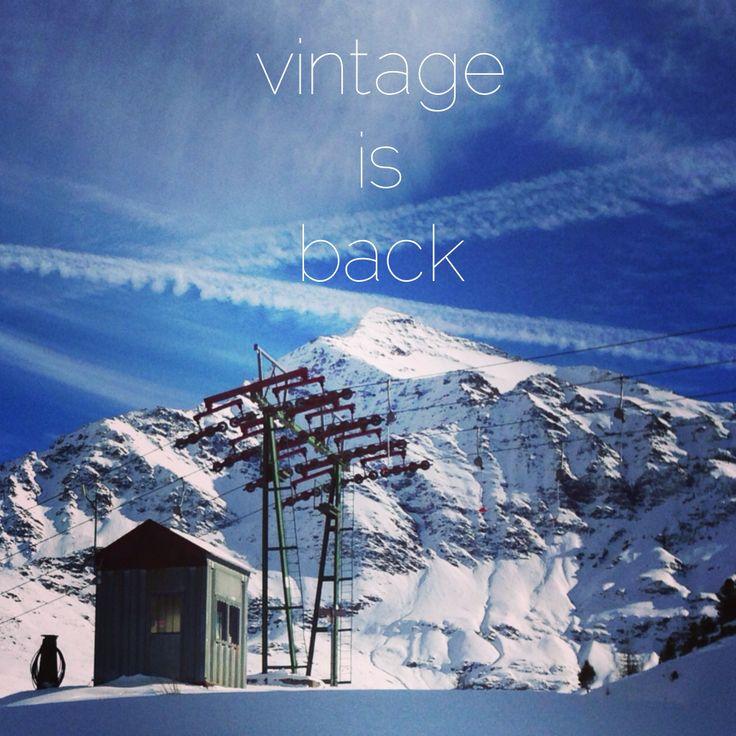 Vintage is back