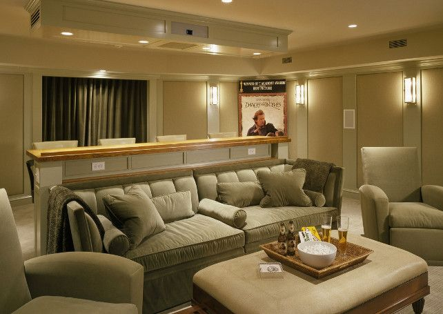 comfortable and stylish media room design very elegant mediaroom