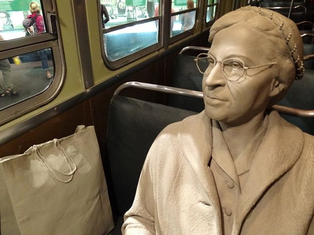 Diorama of Rosa Parks in Her Bus Seat - National Civil Rights Museum - Downtown Memphis - Tennessee - USA by Adam Jones, Ph.D. - Global Photo Archive, via Flickr