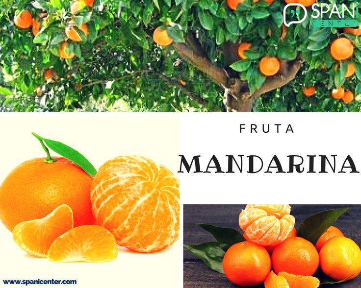 Parece una naranja, pero es más pequeña y se pela mucho más fácil #LearnSpanish #Spanish #Vocabulary
