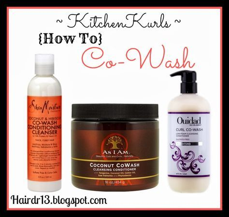 How To Co-Wash Naturally Curly Hair