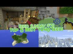 Minecraft Console - Top 5 BEST TU46 Seeds! (Minecraft PS4, Xbox One, PS3, Xbox 360) - YouTube