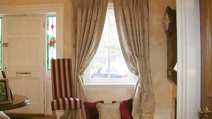 We make high quality curtains. Choose any fabric from our website and call 00353(45)879663 to order.   Belek 001