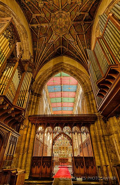 Check out the architecture in Hull's Holy Trinity Church. Amazing!