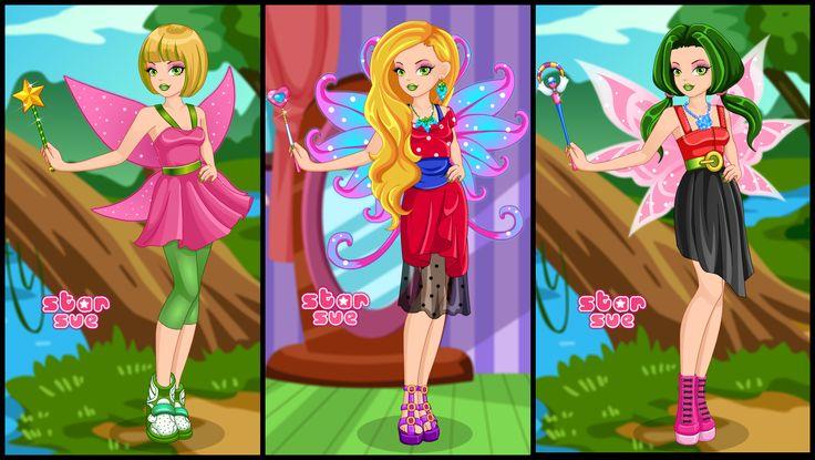 Fairy Tale High Teen Tinker Bell Dress Up Game : http://www.starsue.net/game/Teen-Tinker-Bell.html Have Fun! =)