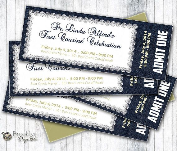 17 best ideas about Event Tickets – How to Design a Ticket for an Event