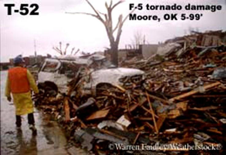 F5- tornado damage, Moore OK 5/99 | After the Storm ...