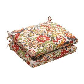 Pillow Perfect Zoe Multicolored Floral Seat Pad For Universal 450063