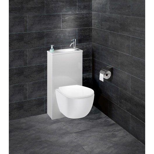 Les 25 meilleures id es de la cat gorie cuvette wc suspendu sur pinterest - Pack toilette suspendu ...
