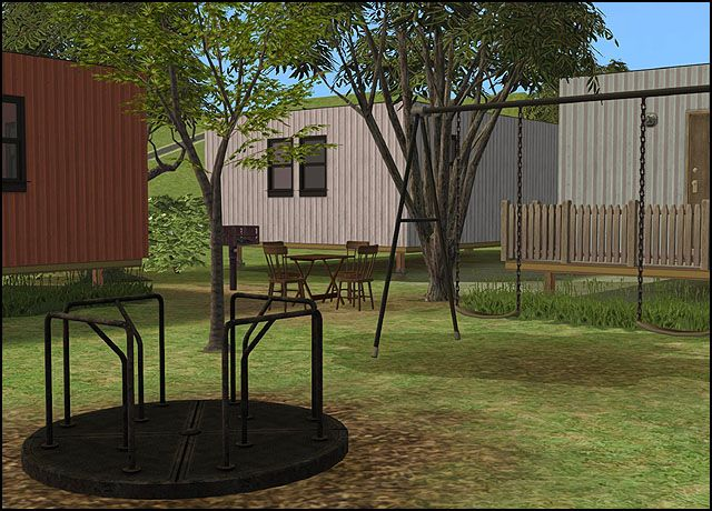 Main Street Mobile Homes, revamped - Anna's Sims