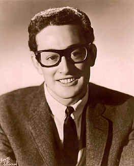 Buddy Holly's monster glasses