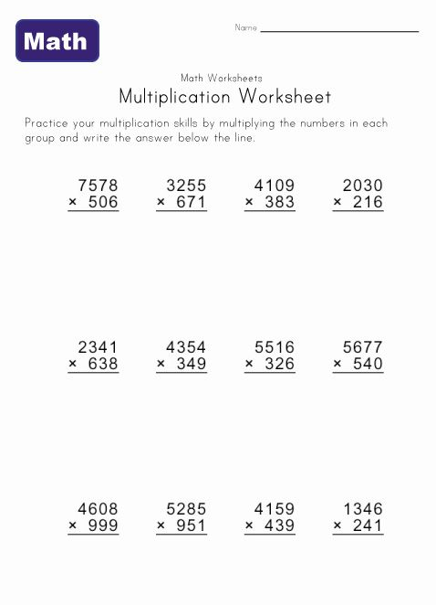 16 best Number images on Pinterest Multiplication problems