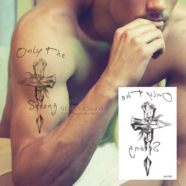 Cross Tattoo //Price: $6.49 & FREE Shipping // #tattoodesigns