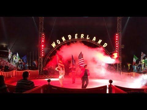 Circo Wonderland navidad con niños en Valencia