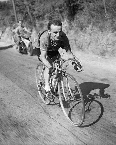 Tour de France 1952. 14^Tappa, 9 luglio. Aix-en-Provence > Avignon. Mont Ventoux. Jean Robic (1921-1983)