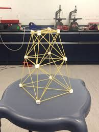Marshmallow spaghetti tower - quick team challenge