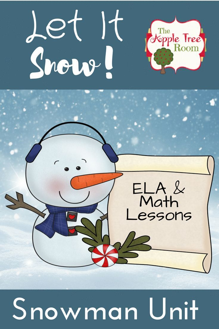 Build early math and literacy skills with this snowman unit. It's perfect for preschool, kindergarten and first grade. CCSS aligned activities will get your students talking, reading, and writing about snowmen. There are sequencing activities, student booklets, storytelling sets, numbers, words, and more! Click here for more information!