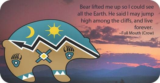 Native American Bear symbol and Native American Bear Meaning