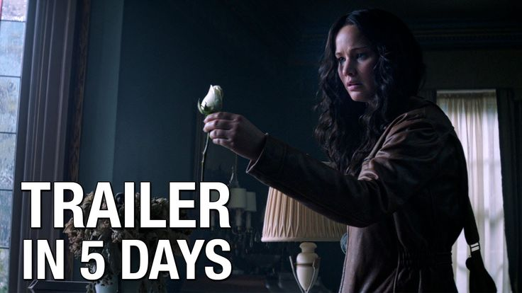 "The Hunger Games: Mockingjay Trailer Countdown – ""5 Days"" ---- AHHHHHH!!!!! THIS WAS THE SURPRISE!!!! COME NOW SEPTEMBER 15!!!!!!!!"