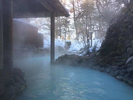 Japan, Heiße Quellen, Noboribetsu