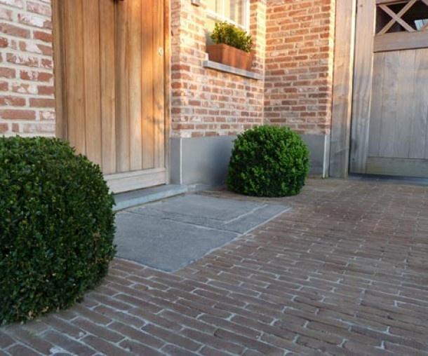 leuke steen voor voordeur Door Jagerpad