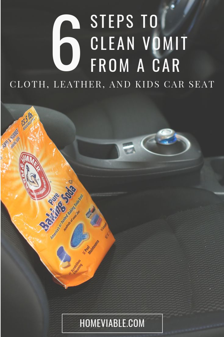 Clean your car seats with baking soda with this diy carpet