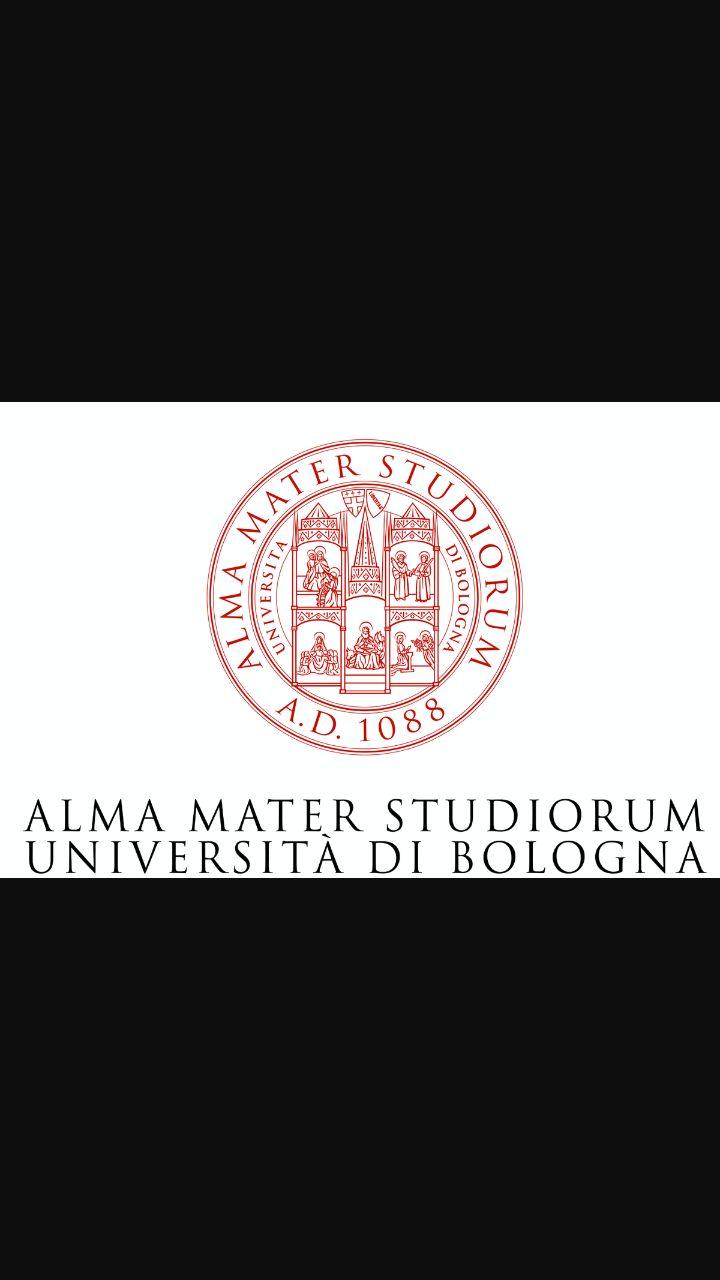 Questo è il logo dell'università di Bologna nella quale Pascoli si è laureato in lettere.