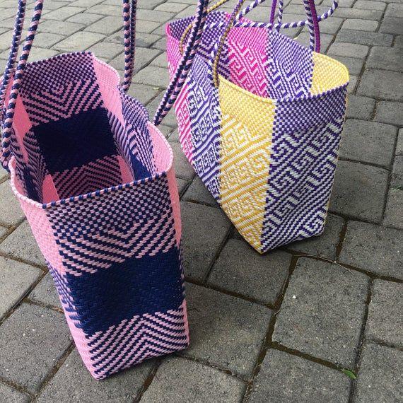 Washable bag Travel bag Beach bag Picnic bag Tote bag Woven bag Shoulder bag Big Mexican tote bag Yoga bag