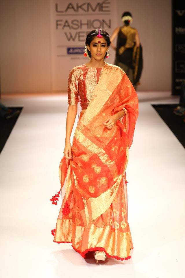 Love everything about this sari!