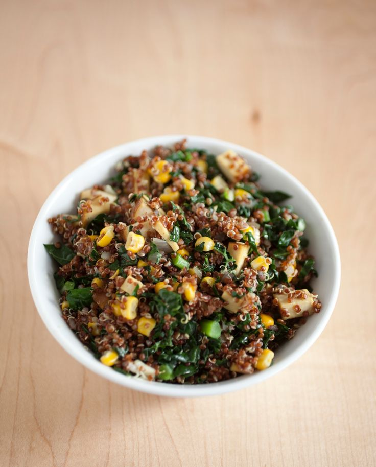 Featured from the Tone It Up Community site! Have you created your profile yet? Community.toneitup.com This looks amazing Tracy! We just love all your recipes :) Send her some love in the community and on instagram at http://instagram.com/tracytiu Mexican Quinoa Bowl... #bowl #quinoa #vegetarian