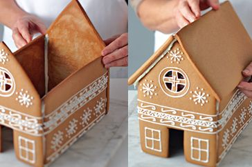 How to build and decorate your gingerbread house
