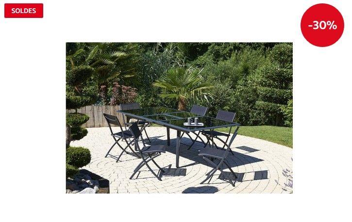 Salon De Jardin 6 Personnes California Dcb Garden Pas Cher Soldes Salon De Jardin Auchan Salon De Jardin Jardins Table De Jardin