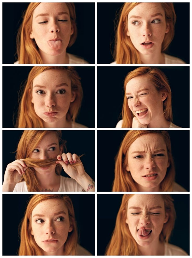 for-redheads : Photo. good drawing ref for facial expressions