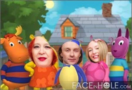 LA FAMILLE ACKERMANN: FASHION.... LA FAMILLE ACKERMANN !!!