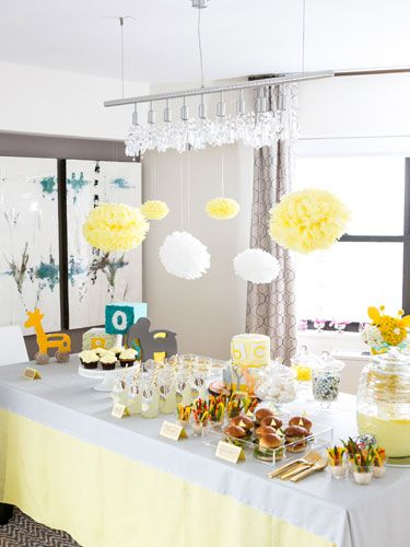 6 Simply Adorable Ideas for a Baby Shower