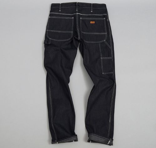 DICKIES 1922: Slim Fit Utility Jean, 11.5 oz Selvedge Denim with Zipper
