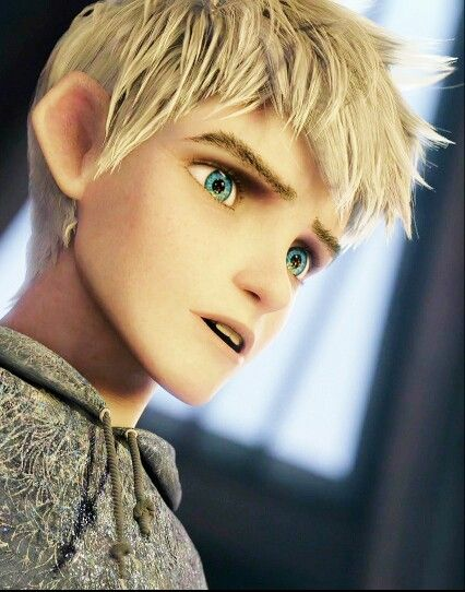Jack Frost from Rise of the Guardians his  eyes are beautiful i love him i love the move