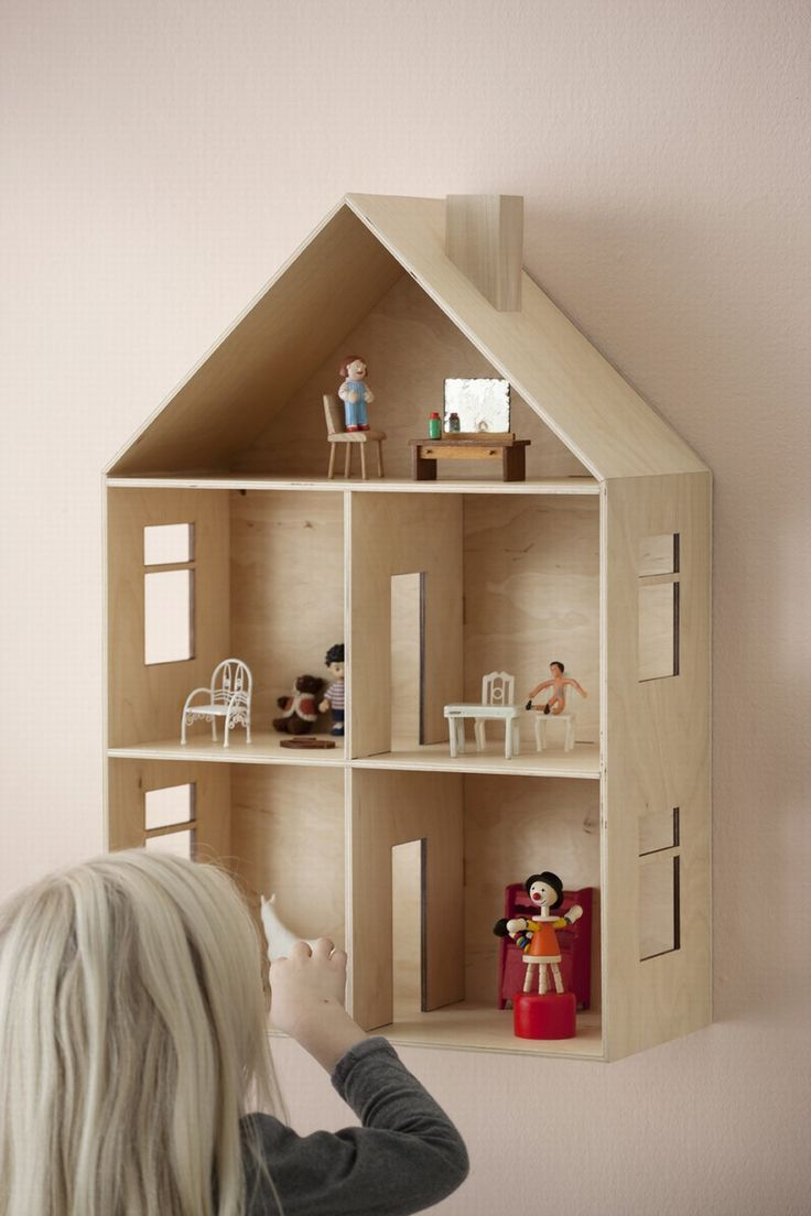 Make a town on the wall, House, School Room, Church, Store...