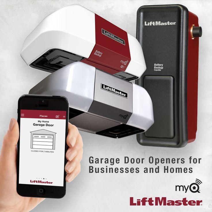22 best residential garage door openers images on for Garage door opener miami fl