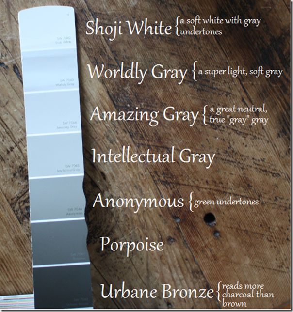 25+ Best Ideas About Sherwin Williams Amazing Gray On