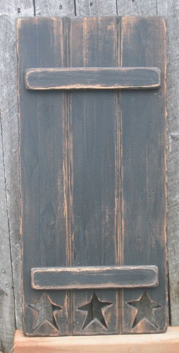 I wonder if my husband can make these?? (as I am nearly laughing hysterically that I even ASKED that!! LOL!!!!)   SA SHUTTERMILL | Primitive shutters