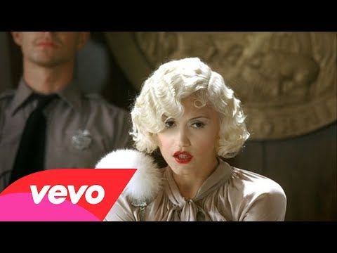 ▶ Gwen Stefani as Jean Harlow. I loved No Doubt when I was a tween. I like Gwen Stefani's homage to Old Hollywood No Doubt - It's My Life - YouTube