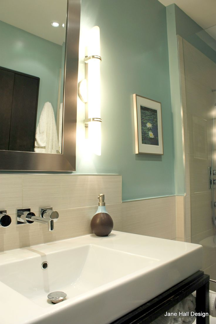 Soft Blues Are Great Colors To Use In Bathrooms For A Spa Effect