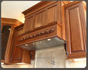 Ventilation Units Are Also Available For Wood Range Hoods