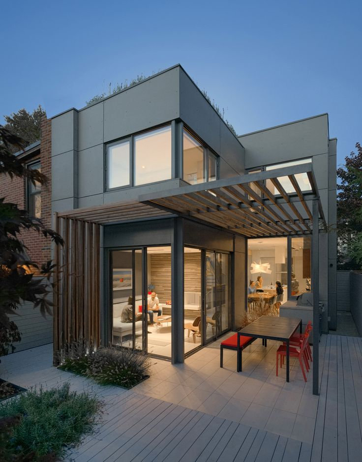 Through House By Dubbeldam Architecture Design Features Equitone External Wall Panels