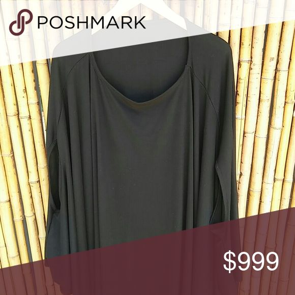Black Batwing Tunic! Black Batwing Tunic in a jersey knit. New direct form maker without tag. Wear it as a top or Mini dress!  🚫No Trades 🙄😘  🔘Use OFFER button to negotiate👍🤑 🔘Please Ask ❓'s BEFORE you Buy🤔😃 💕Thank you for stopping by! Happy Poshing!💕 Real Haute Trends Tops Tunics